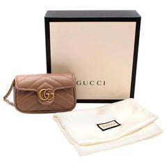 Gucci GG Marmont Micro Leather Shoulder Bag