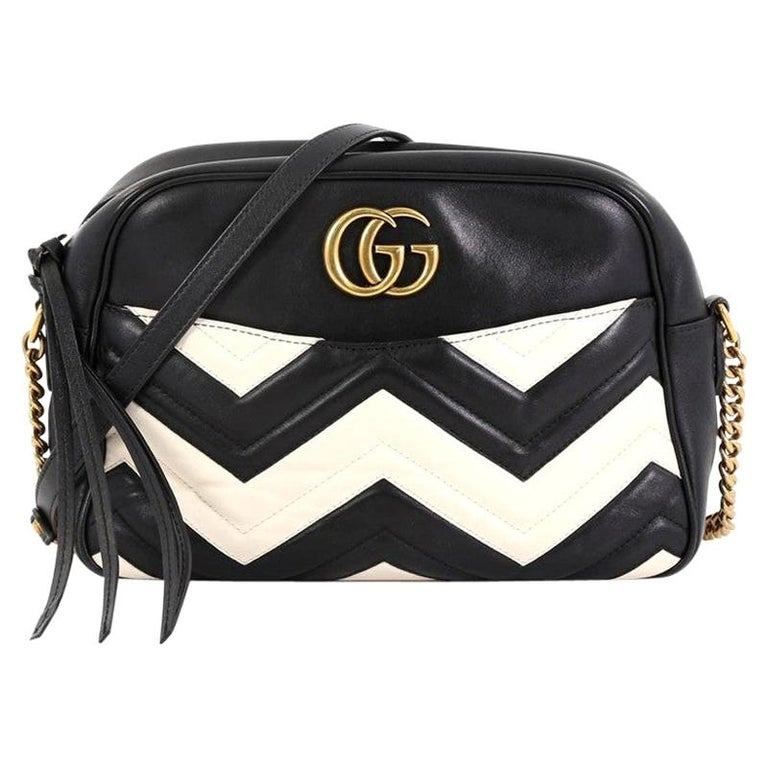b0c02100b Gucci GG Marmont Shoulder Bag Matelasse Leather Medium For Sale at ...