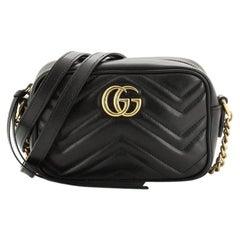 Gucci  GG Marmont Shoulder Bag Matelasse Leather Mini