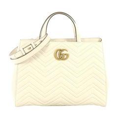 Gucci GG Marmont Tote Matelasse Leather Medium