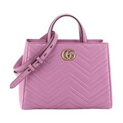 Gucci GG Marmont Tote Matelasse Leather Small