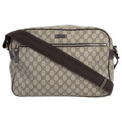 Gucci GG Monogram Canvas Travel Messenger Bag