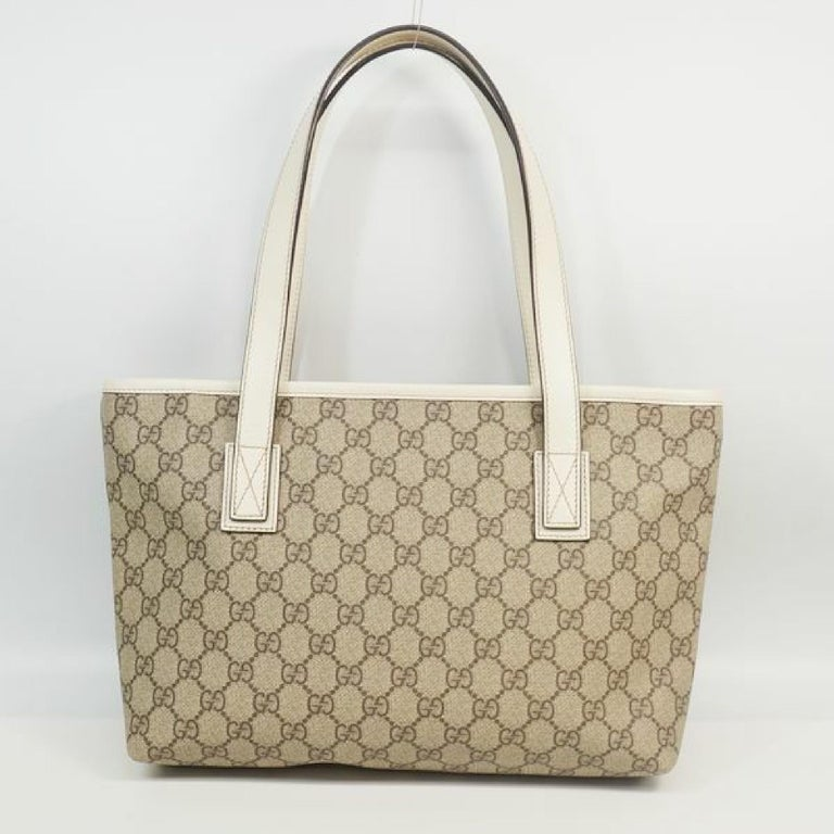 Brown GUCCI GG plus shoulder Womens tote bag 211138 For Sale