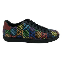 GUCCI GG Psychedelic print Ace sneakers - Size 37