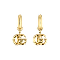 Gucci GG Running Gold Drop Earrings - YBD582017001