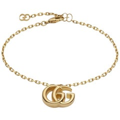 Gucci GG Running Yellow Gold Bracelet YBA501676001