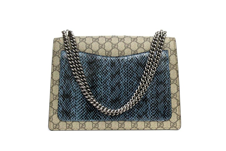 Gucci GG Supreme Canvas Limited Edition Dionysus Bag  For Sale 2