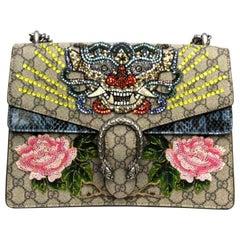 Gucci GG Supreme Canvas Limited Edition Dionysus Bag
