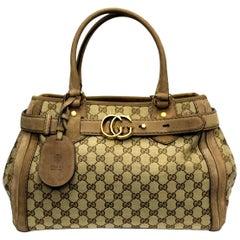 Gucci GG Supreme Ebony Canvas GG Running Bag