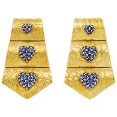 1970s Clip-on Earrings