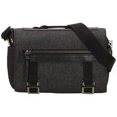 Gucci Gray Denim Camera Bag