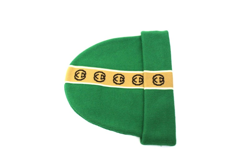 Gucci Green Hat  For Sale 1