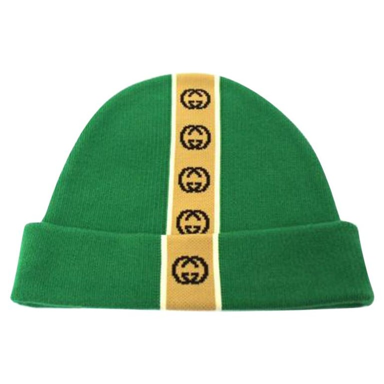 Gucci Green Hat  For Sale