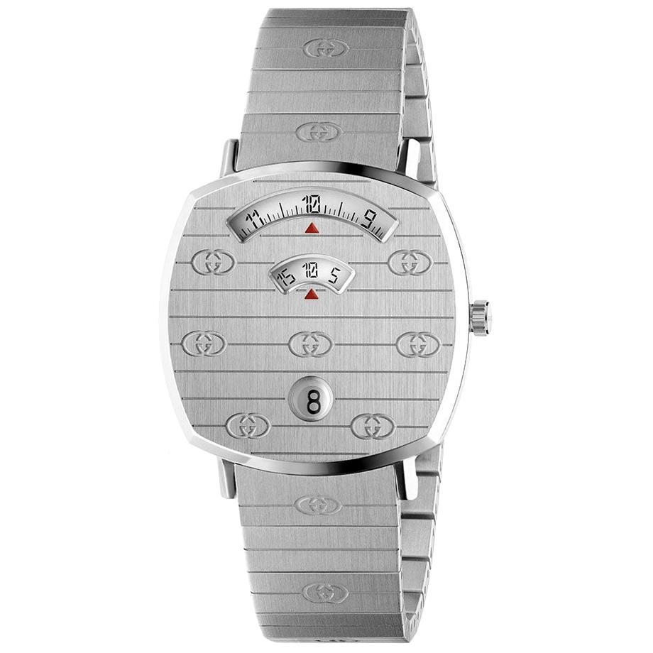 Gucci Grip Stainless Steel Watch YA157401