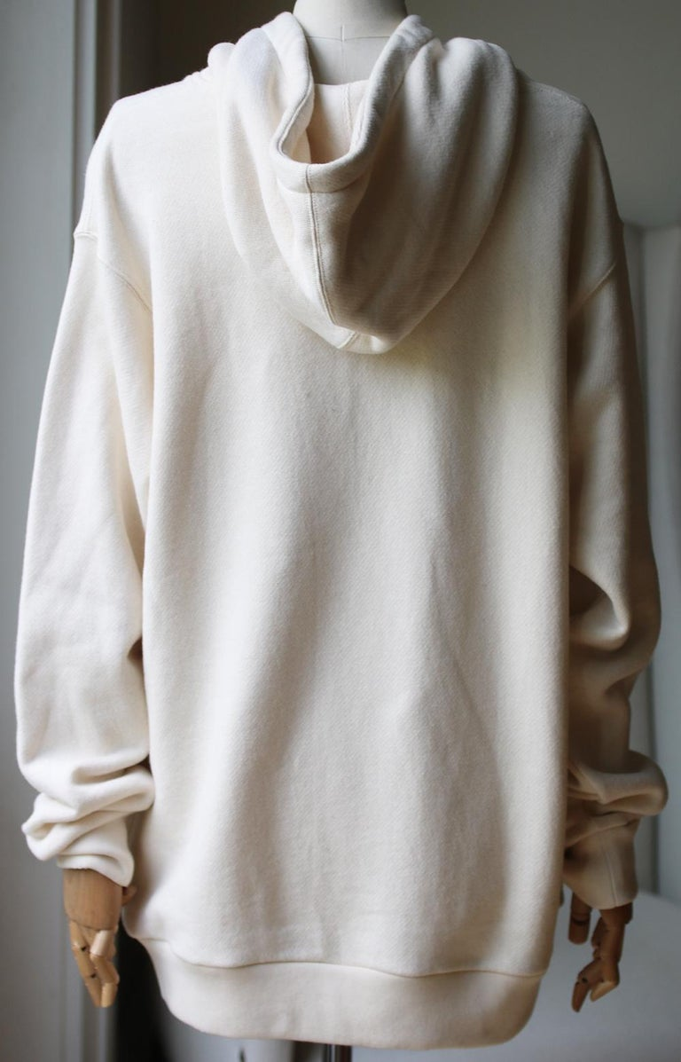 Gucci Guccify Yourself Printed Cotton-Jersey Hooded Sweatshirt In Excellent Condition For Sale In London, GB