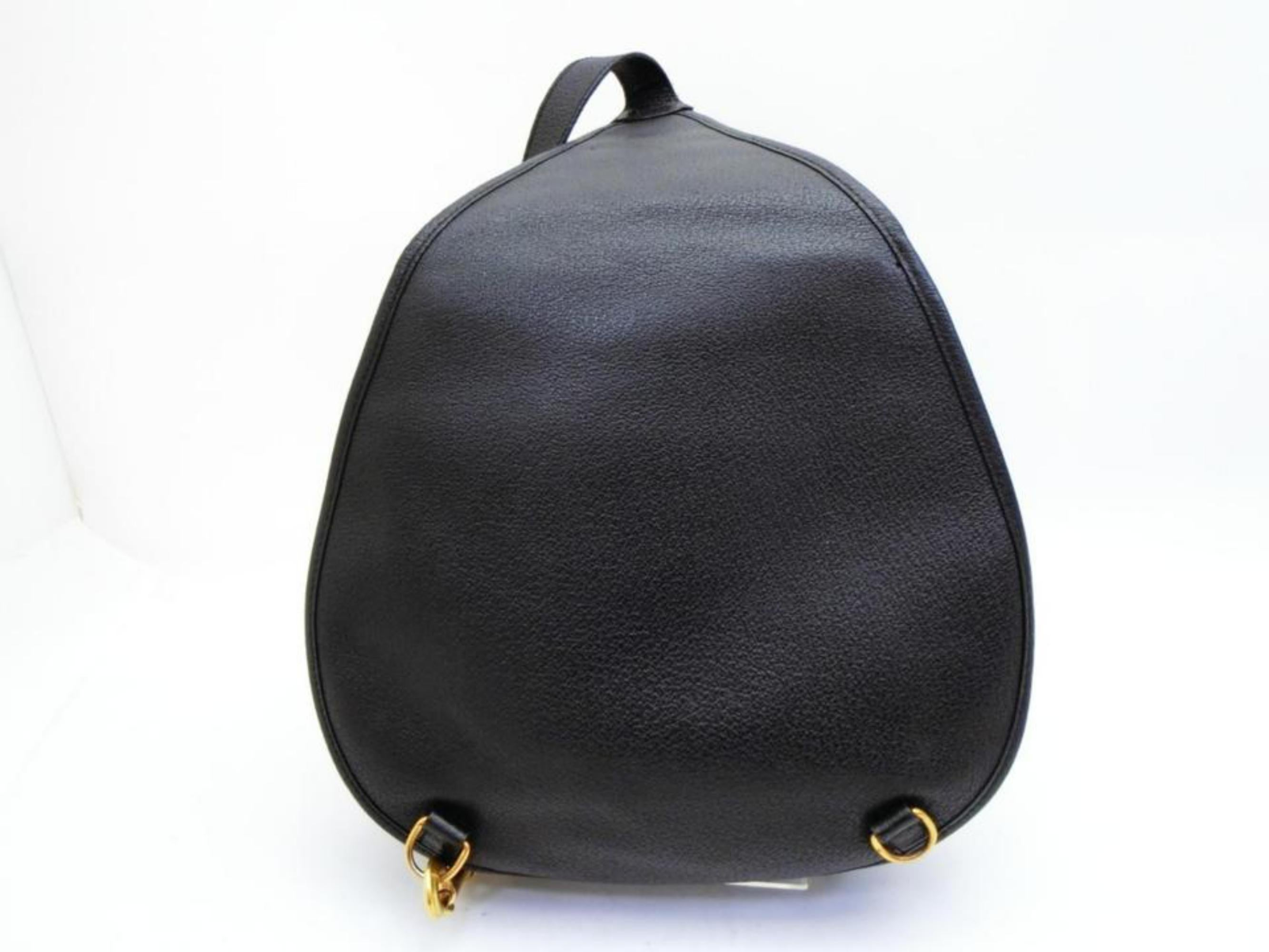 c3f7f9a75b41 Gucci Horsebit Body 233519 Black Suede Leather Backpack For Sale at 1stdibs