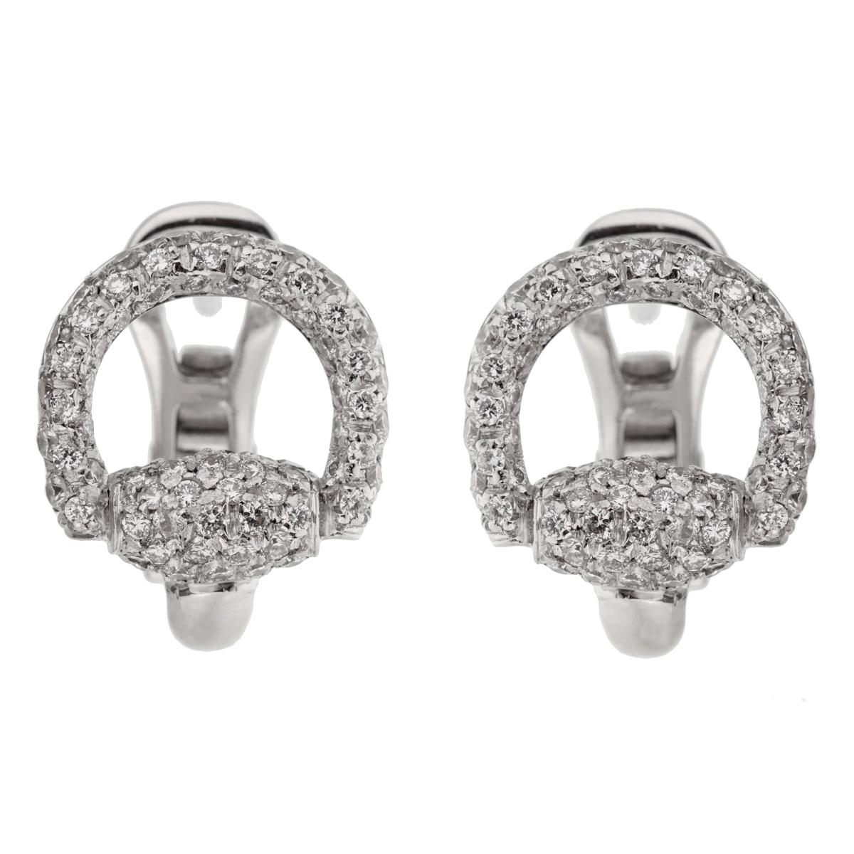 ed3ec8569 Diamond, Pearl and Antique Clip-on Earrings - 4,005 For Sale at 1stdibs