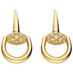 Gucci Horsebit Earrings YBD357029001