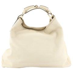 Gucci Horsebit Hobo Leather Large