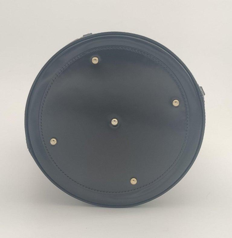 GUCCI Horsebit Shoulder bag in Black Leather For Sale 1