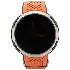 Gucci I-Gucci Sport Digital Quartz Watch Stainless Steel and Rubber 49
