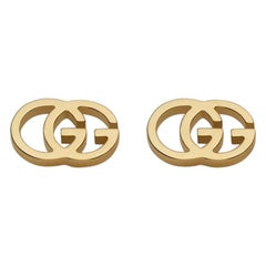 Gucci Icon GG Tissue Stud Earrings YBD094074002