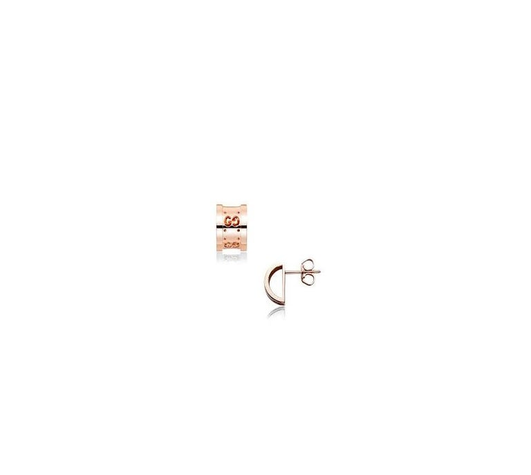 Gucci has continued to push forward the world of luxury fashion for many years and when it comes to creating cutting edge jewellery pieces this iconic brand certainly doesnít sit back. Stylish and contemporary, these Gucci Icon Twirl earrings have
