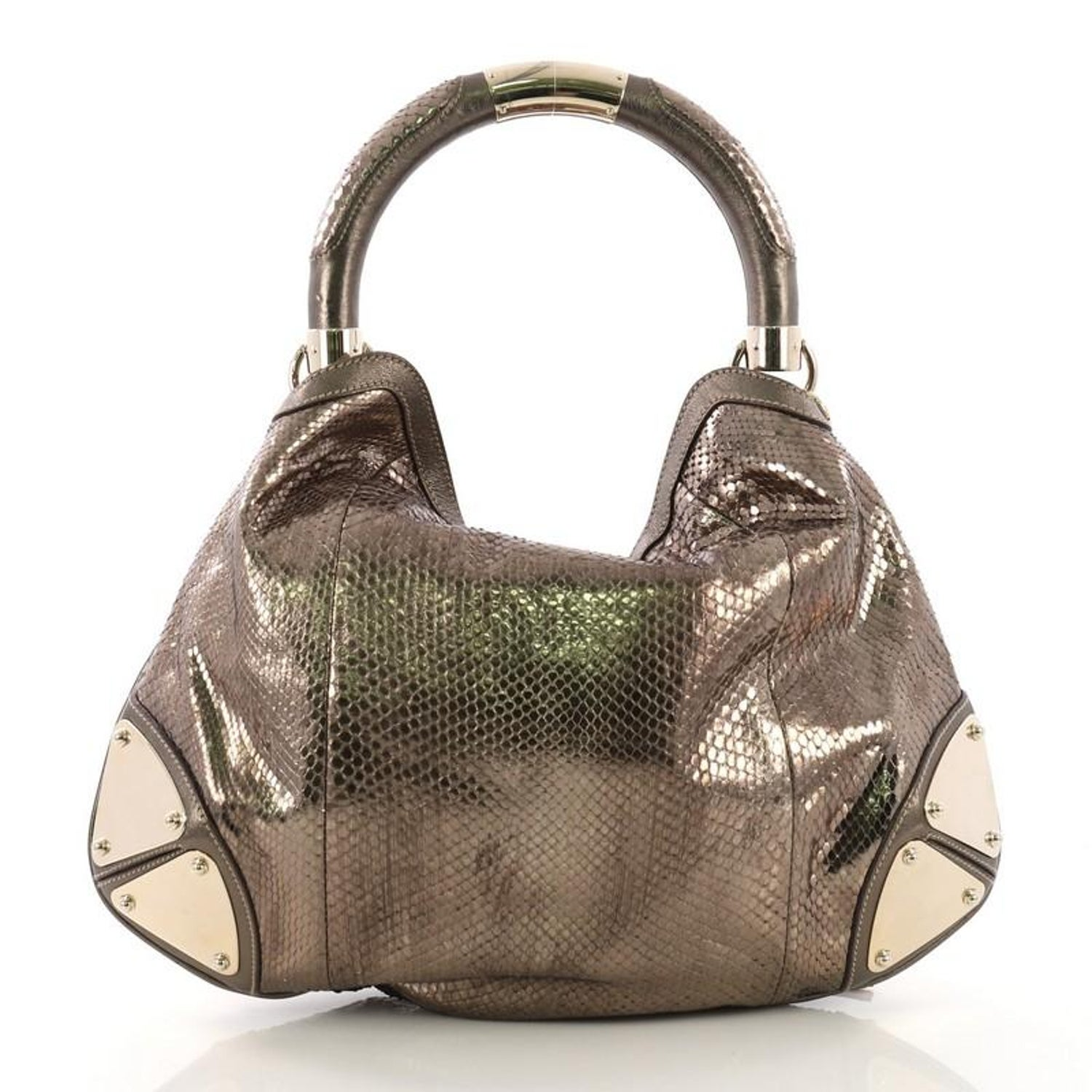 7c434ff5567 Gucci Indy Hobo Python Medium at 1stdibs