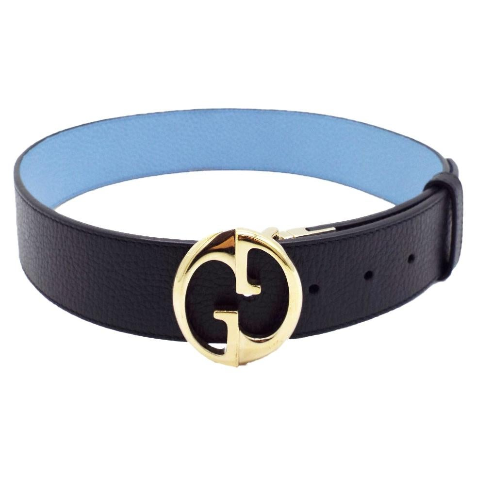 Gucci Interlocking Reversible Belt