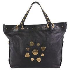 Gucci Irina Babouska Tote Leather
