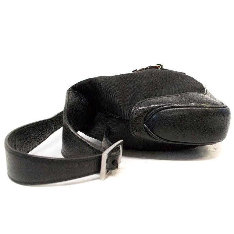 Gucci Jackie Black Shoulder Bag With Gucci Monogram At 1stdibs