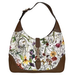 Gucci Jackie Flora Medium Shoulder Bag