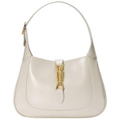 Gucci Jackie Hobo Small Leather Shoulder Bag