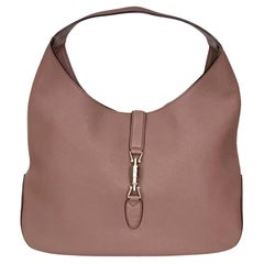 Gucci Jackie Soft Pink Leather Large Hobo Bag