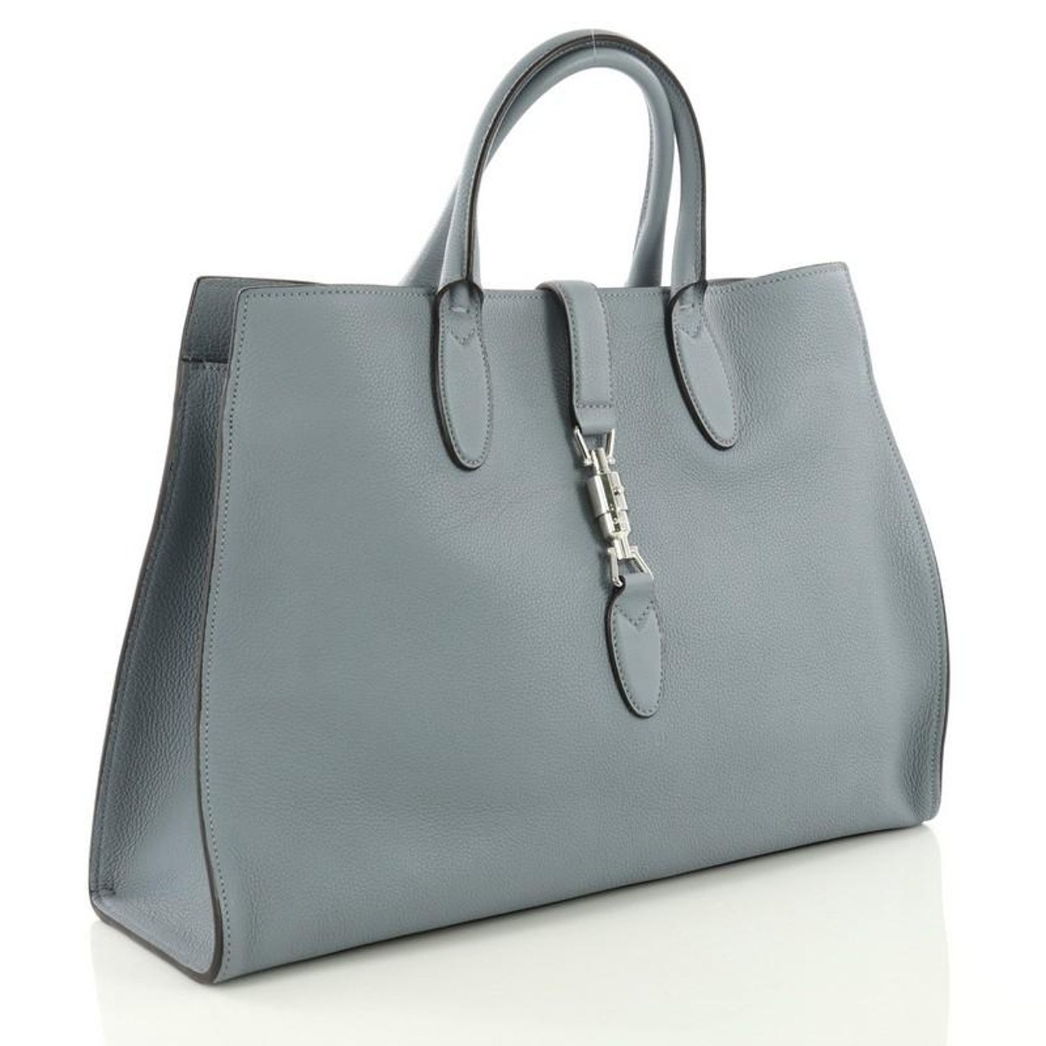 cd58689b9d1 Gucci Jackie Soft Tote Leather Large For Sale at 1stdibs