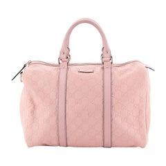 Gucci Joy Boston Bag Guccissima Leather Medium