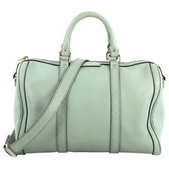 Gucci Joy Boston Bag Leather with Microguccissima Medium