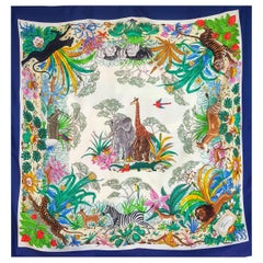 Gucci Jungle Animal Scarf signed by Vittorio Acornero 1960´s-1970´s