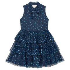 Gucci Kids Glittery Tulle Dress