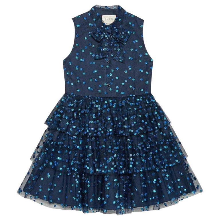 264f81f29 Gucci Kids Glittery Tulle Dress For Sale at 1stdibs