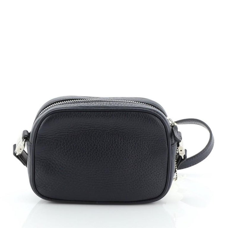Gucci Kid's Soho Disco Crossbody Bag Leather Mini In Good Condition For Sale In New York, NY