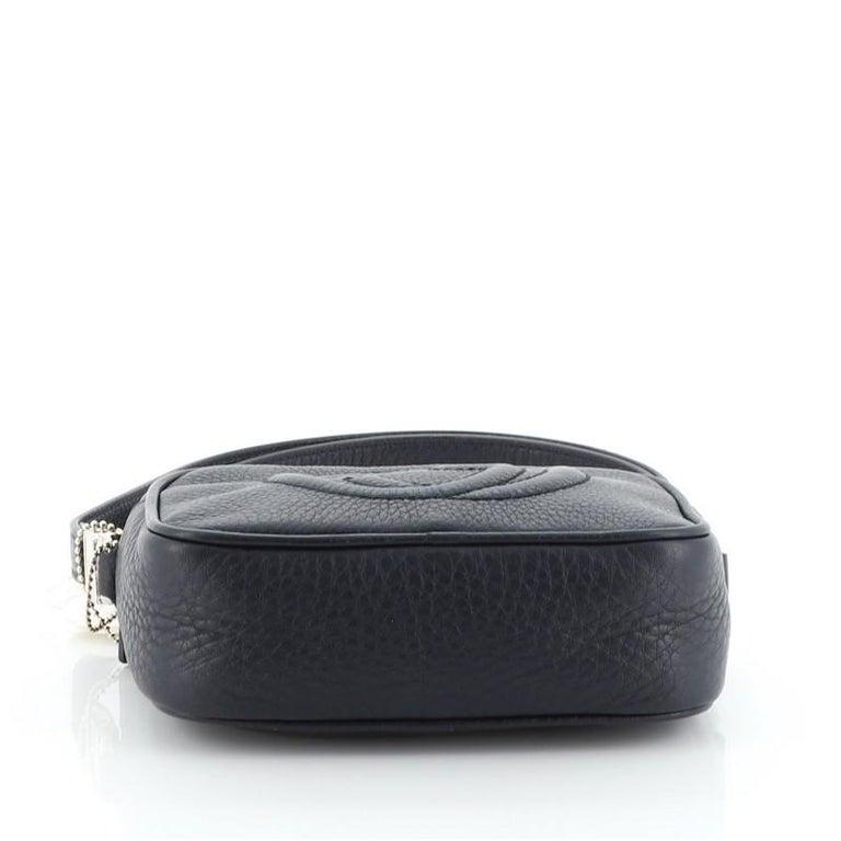 Women's or Men's Gucci Kid's Soho Disco Crossbody Bag Leather Mini For Sale