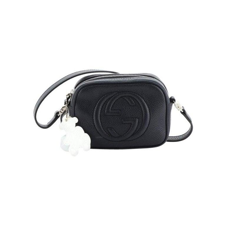 Gucci Kid's Soho Disco Crossbody Bag Leather Mini For Sale