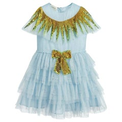 Gucci Kids Tulle Sequin Dress