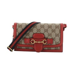 Gucci Lady Web Convertible Wallet GG Canvas with Leather