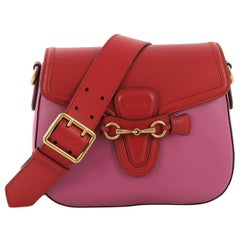 Gucci Lady Web Shoulder Bag Leather Medium
