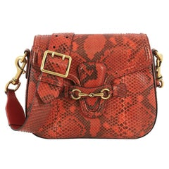 Gucci Lady Web Shoulder Bag Python Medium