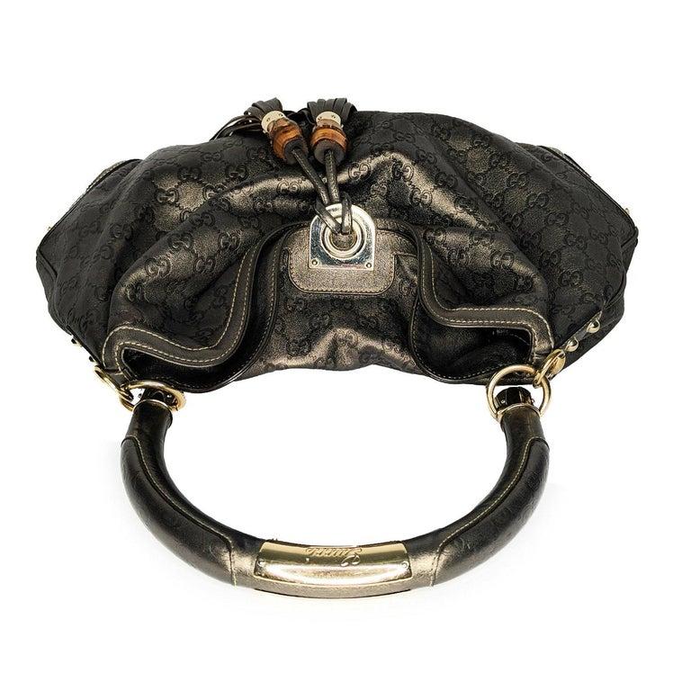 Gucci Large Babouska Indy Bag Top Handle Hobo For Sale 1