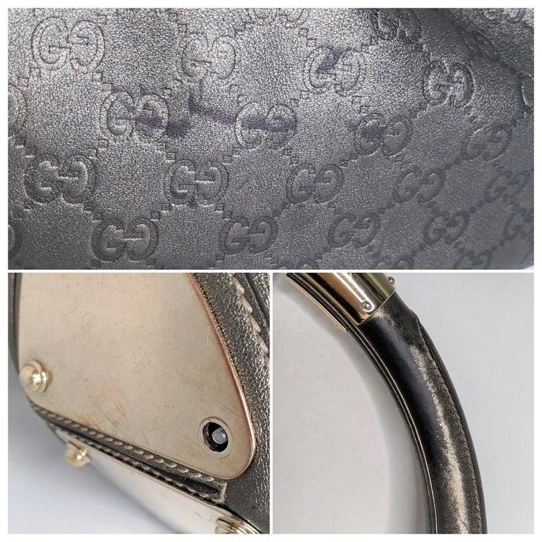 Gucci Large Babouska Indy Bag Top Handle Hobo For Sale 4