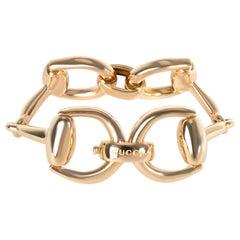 Gucci Large Horsebit Bracelet in 18 Karat Yellow Gold